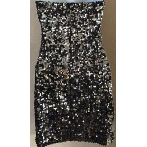 Frederick's of Hollywood Sexy Sequin Dress XS